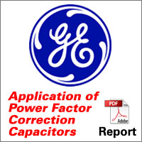 General Electric Power Factor Correction Report
